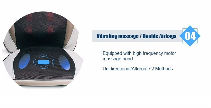 Shiatsu Tapping Massage Cushion
