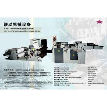 Roll Paper High Speed Flexography Web Slitter Machine (LD-1020YX)