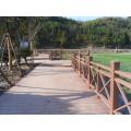 Wood Plastic Composite Landscape Decking and WPC Construction Project