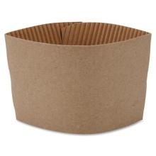 Wholesale printed black coffee mug paper sleeve cup sleeve with custom logo