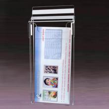 Utomhus broschyr innehavaren