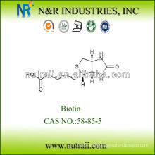 High Quality biotin vitamin h 2% 58-85-5