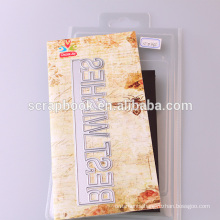 Traditional happy birthday letter dies, metal scrapbook dies for paper craft