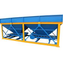 Поставщик фабрики PLD800 готового смешанного мини бетонный завод с 2 хупера