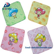 Toallas de mano promocionales de encargo al por mayor del regalo de las toallas de cara del bebé del algodón al por mayor