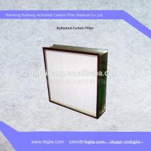 Filtro purificador de aire de filtro de carbón activado purificador de aire