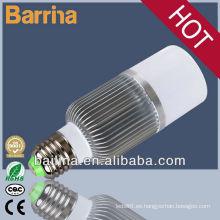 2013 nuevos productos led bombilla de luz aluminio