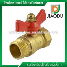 "Tee Handle Male to Female M/F 1/2""PT Thread Brass Ball Valve"