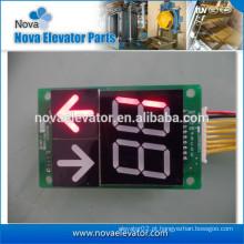 Placa de exibição NV62L-100B para COP e LOP, com função de download