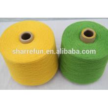 Sharrefun servicio de stock de hilados de lana / cachemira de alta calidad