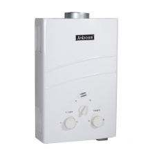 6L / 7L Niedriger Wasserdruck-Rauchabzugs-Sofort-Gas-Warmwasserbereiter