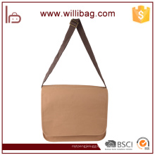 Factory Wholesale DIY Kraft Paper Durable Waterproof Messenger Bag