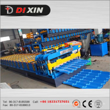 Dx 828 Glazed Tile Roof Forming Machine