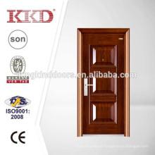 Porta de aço residenciais de luxo KKD-204 para projeto de segurança