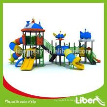Skydream Series Large Plastic Slides Terrain de jeux extérieur pour projet de parcs, toboggans en plastique extérieurs