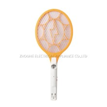 solar mosquito killer rechargeable mosquito swatter with flashlight