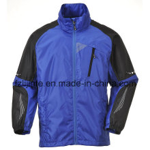 Men′s Contrast Waterproof Outdoor Windbreaker