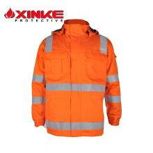 EN11611 coton ignifuge veste pour l'industrie du soudage EN11611 coton ignifuge veste pour l'industrie du soudage