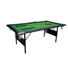 7′ Foldable Metal Leg Pool Table (P703)