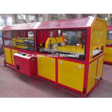 Máquina de corte y extracción de doble tubo para extrusora de plástico