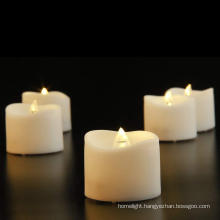 Wave Top LED tea lights candles with timer