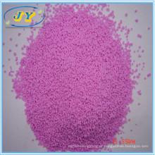 Granulado colorido para detergente em pó