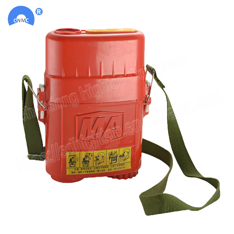isolated compressed oxygen mining self rescuer