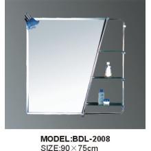 Espelho de vidro da prata do banheiro da espessura de 5mm (BDL-2008)