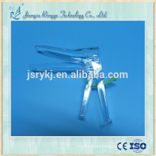 Medical use disposable vaginal speculum spanish type