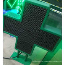 P6-Doppelseiten-Kreuzapotheke-LED-Anzeige
