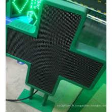 Écran LED de pharmacie double face P6