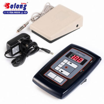 Solong tattoo power supply LED digital screen ac dc power supply