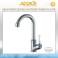 Deck mounted plastic kitchen sink faucet