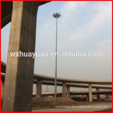 Viadukt hoher Mast Beleuchtung Turm
