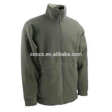 Großhandel elastische Manschette Reißverschluss Polar Fleece Jacke