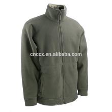 wholesale elastic cuff zipper closure polar fleece jacket