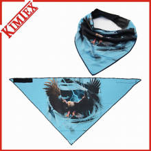 Hotsales Fashion Triangle Bandana with Fleece on Back
