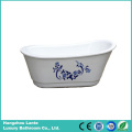 Modern Acrylic Freestanding Tub with Fashion Pattern (LT-7E2)