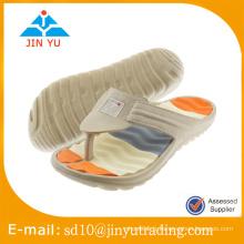 2016 Chine usine prix dernier style homme EVA zipper flip flop