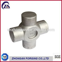 Forged universal joint for automotive drive shaft