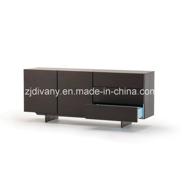 Gabinete de madera de salón de hogar muebles de madera (SM-D46B)