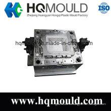 Herramienta de inyección de contenedor de almacenamiento de moldes de inyección de cesta de plástico