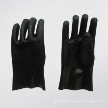 Guantlet Cuff Black Neoprene Industrial Glove (5341)