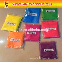 Venta caliente de aire comprimido Partido Holi Color Powder Confetti