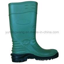 Moda de borracha de PVC Wellington botas de chuva / sapatos