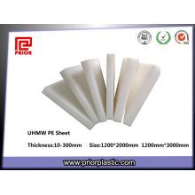 UHMWPE resistente ao desgaste da placa de plástico anterior