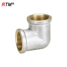 L 17 4 12 laiton 90 degrés coudé cuivre raccord de ferrure galvanisé raccords de tuyauterie