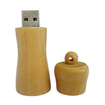 Creative design wood gift usb 2.0 memory stick