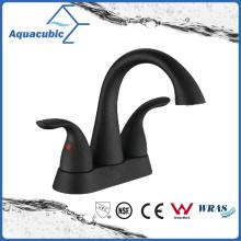 Black Double Handle Lavatory Faucet (AF0105-6BL)