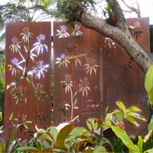 Decorative Mild Steel Fence Panels